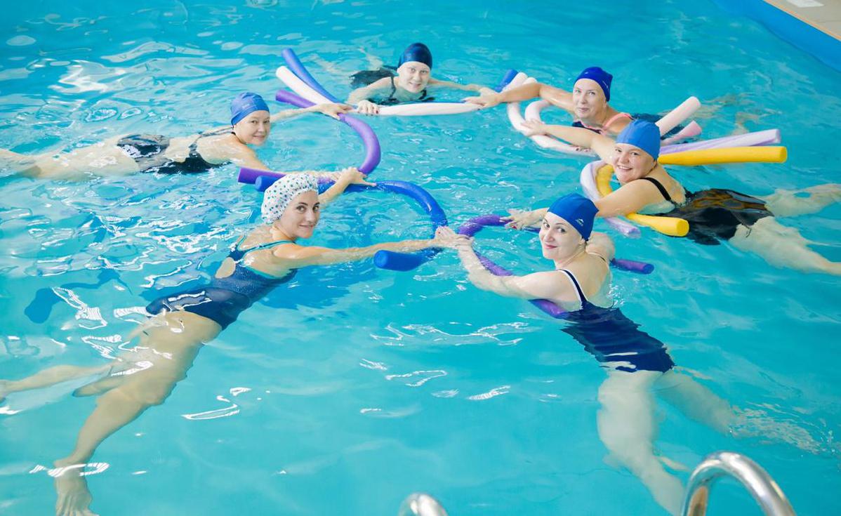 Картинка оздоровительное плавание
